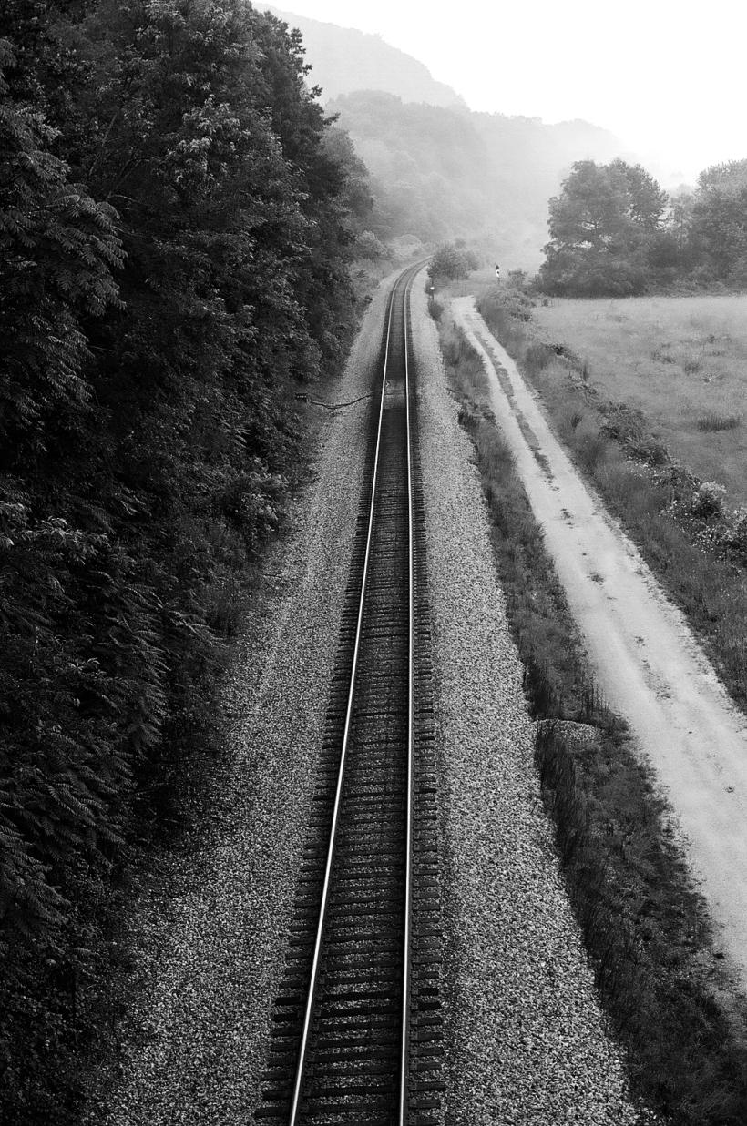 north carolina train tracks (2006)