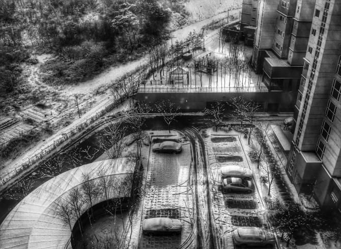 snow in sinpyeong